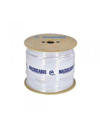FIO COAXIAL RG-6 - 95% DE MALHA CARRETEL 300 METROS