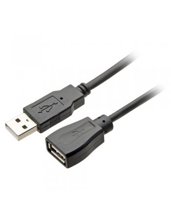 CABO EXTENSÃO USB MACHO + USB FEMEA 2.0 COM FILTRO 2 METROS