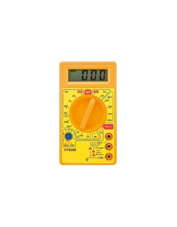 MULTÍMETRO DIGITAL DT830D COM BUZZER LE- 495