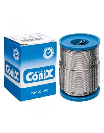 SOLDA FINA COBIX ESTANHO 60x40 ROLO 250GRS