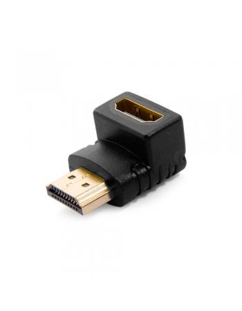 CONECTOR ADAPTADOR HDMI 90º FEMEA + HDMI MACHO