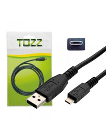 CABO DE DADOS CARREGAMENTO USB + MICRO USB 2,0A V8 1,2 METROS