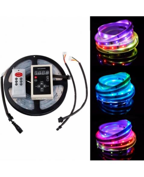 FITA LED MULTICORES RGB-6803 C/ CONTROLES 5M