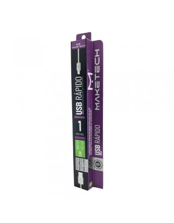 CABO DE DADOS CARREGAMENTO USB + MICRO USB SY-03 ANDROID 1 METRO