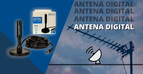 Antena Digital Interna AS Componentes